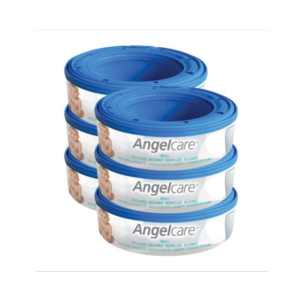 Angelcare kasete za plenice 6 pack